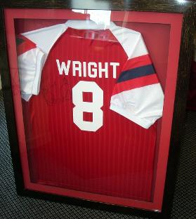 Ian Wright football shirt