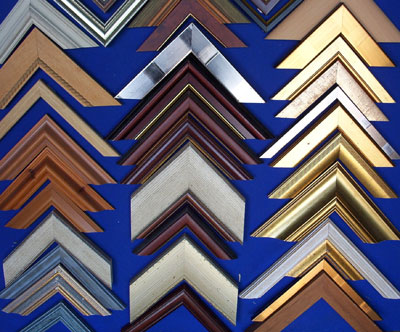 Selection of frame chevrons